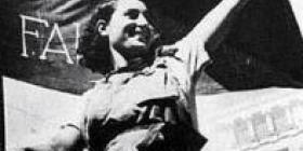 File:Woman with cnt-fai flag.jpg